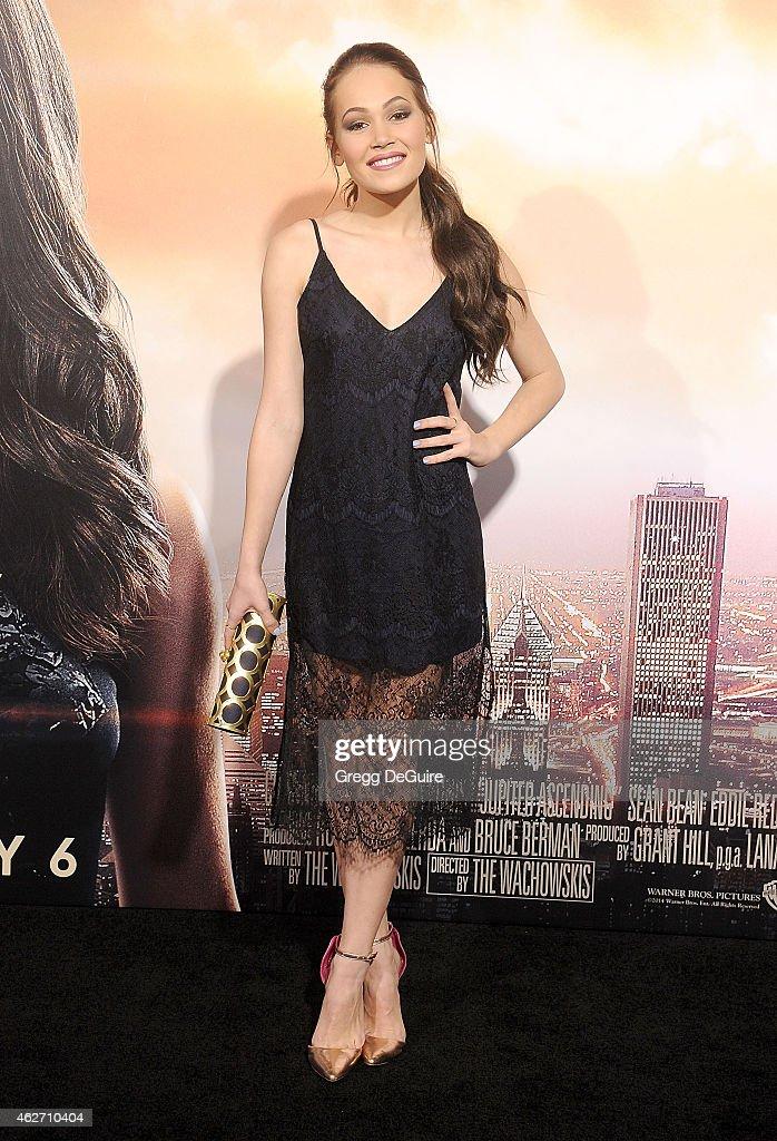 """Jupiter Ascending"" Los Angeles Premiere : News Photo"