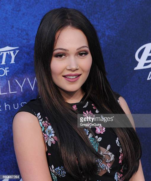 Actress Kelli Berglund arrives at Variety's Power Of Young Hollywood at NeueHouse Hollywood on August 16 2016 in Los Angeles California