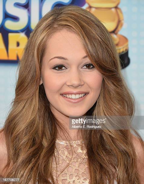 Actress Kelli Berglund arrives to the 2013 Radio Disney Music Awards at Nokia Theatre L.A. Live on April 27, 2013 in Los Angeles, California.