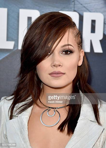 Actress Kelli Berglund attends the premiere of Marvel's Captain America Civil War at Dolby Theatre on April 12 2016 in Los Angeles California