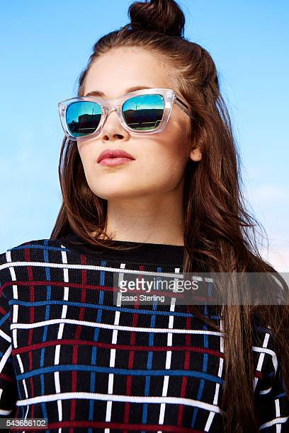 Actress Kelli Berglund is photographed for Self Assignment on October 6 2015 in Los Angeles California