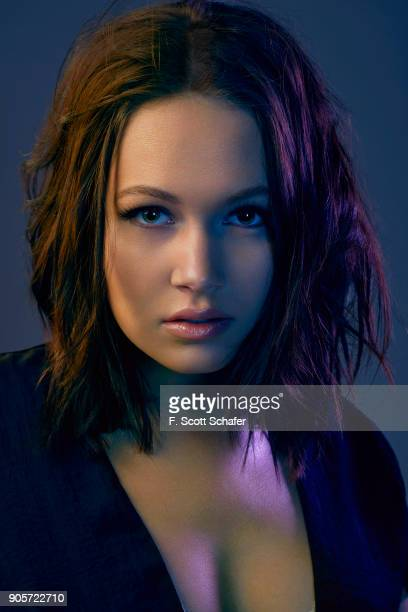 Actress Kelli Berglund is photographed for the Pasadena Playhouse on October 28 2017 in Los Angeles California