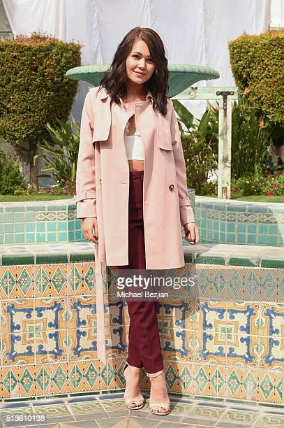 Actress Kelli Berglund poses for portrait at the Mayim Bialik and FabLab announce first ever TV series aimed at tween and teen girls at The Archer...