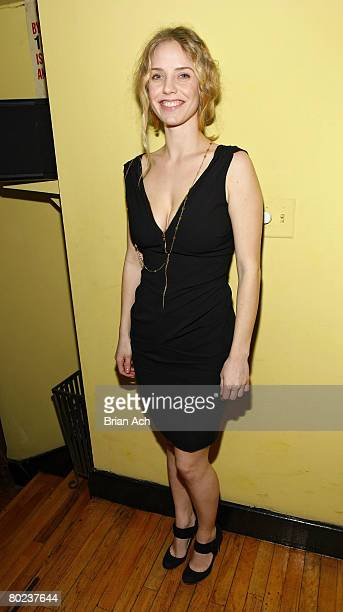 Actress Kelli Garner at The Seagull opening night after party at Pangea on March 13 in New York City