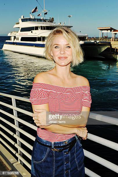 Actress Kelli Garner attends the 2016 Catalina Film Festival hosted by the Catalina Express Ferry on September 30 2016 in Avalon California