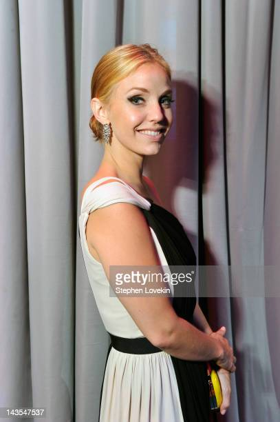 Actress Kelli Garner attends the Capitol File's 7th Annual White House Correspondents' Association Dinner after party at The Newseum on April 28 2012...