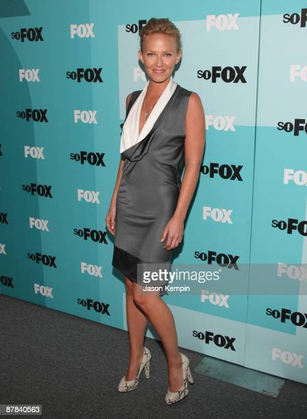 Actress Kelli Giddish attends the 2009 FOX UpFront after party at the Wollman Rink in Central Park on May 18 2009 in New York City