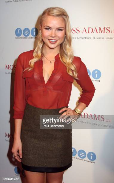 Actress Kelli Goss arrives at Melissa Rivers Hosts All AboardLA's Fashion Platform Fashion Show at Union Station on October 20 2012 in Los Angeles...