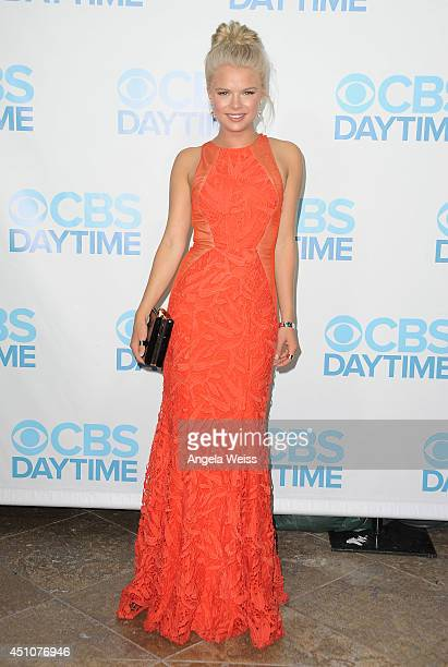 Actress Kelli Goss attends the 41st Annual Daytime Emmy Awards CBS after party at The Beverly Hilton Hotel on June 22 2014 in Beverly Hills California