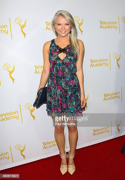 Actress Kelli Goss attends the Daytime Emmy Nominee Reception at The London West Hollywood on June 19 2014 in West Hollywood California