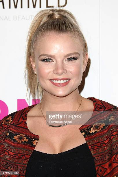 Actress Kelli Goss attends the NYLON Magazine And BCBGeneration Annual May Young Hollywood Issue Party held at HYDE Sunset Kitchen Cocktails on May 7...