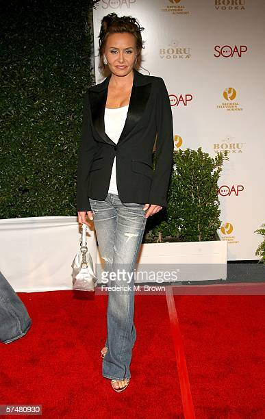 Actress Kelli McCarty arrives at the annual Daytime Emmy nominee party presented by SOAPnet held at the Hollywood Roosevelt Hotel on April 27, 2006...