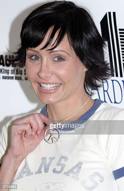 Actress Kelli McCarty attends the Children Uniting Nations Day of the Child on November 9, 2003 in Woodland Hills, California.