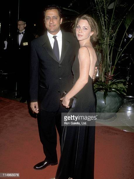 Actress Kelli Williams and husband Ajay Sahgal attend the 14th Annual American Cinematheque Award Honoring Jodie Foster at Beverly Hilton Hotel on...