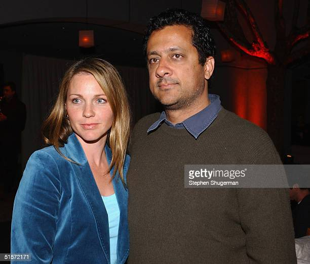 Actress Kelli Williams and husband director Ajay Sahgal attend the after party following the premiere of the new Showtime Original Series 'Huff' at...