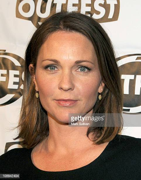Actress Kelli Williams arrives for the Outfest Legacy Awards 2010 at Directors Guild Of America on October 21, 2010 in Los Angeles, California.