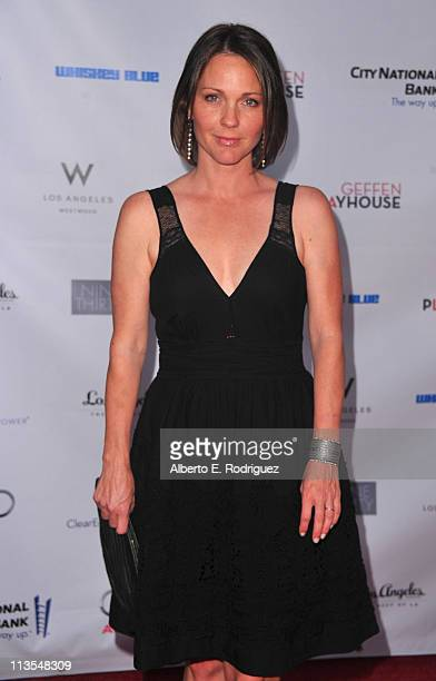 Actress Kelli Williams arrives to the Geffen Playhouse's Annual Backstage at the Geffen Gala on May 2 2011 in Los Angeles California