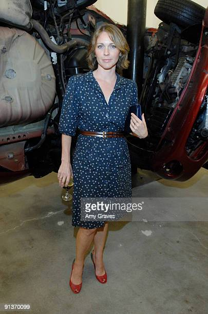 Actress Kelli Williams at the Blum and Poe Gallery Inaugural Preview and 15th Anniversary Event on October 2, 2009 in Los Angeles, California.