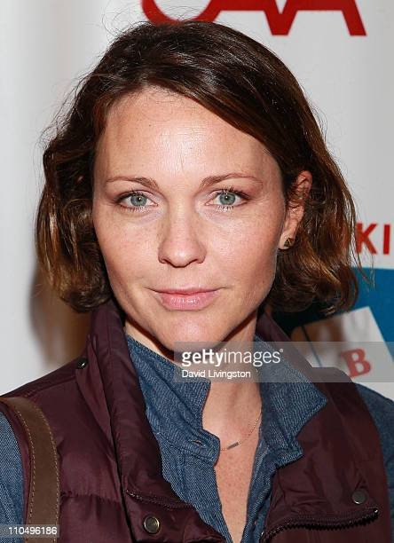 Actress Kelli Williams attends the 2nd Annual Milk + Bookies Story Time Celebration at the Skirball Cultural Center on March 20, 2011 in Los Angeles,...
