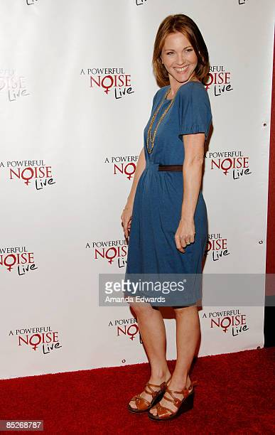 """Actress Kelli Williams attends the west coast broadcast of """"A Powerful Noise Live"""" at AMC Century City 15 on March 5, 2009 in Los Angeles, California."""