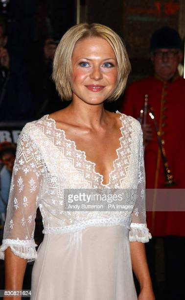 Actress Kellie Bright arriving at the Empire Cinema in London's Leicester Square for the premiere of Ali G InDaHouse