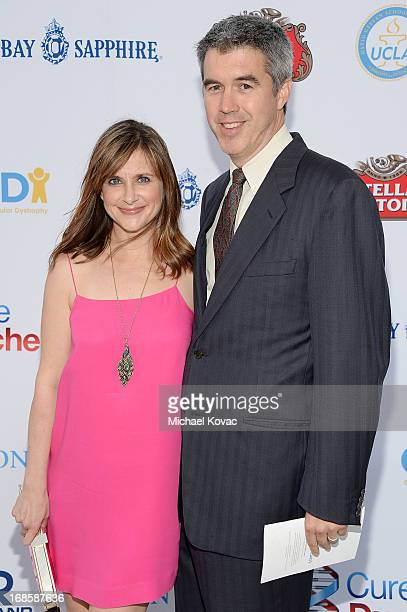 Actress Kellie Martin and husband Keith Christian attend the 6th Annual Dealing For Duchenne Charity Poker Tournament at Sony Pictures Studios on May...