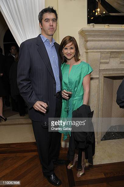 Actress Kellie Martin and husband Keith Christian attend the American Fertility Association's Annual Illuminations Gala at a private residence on...