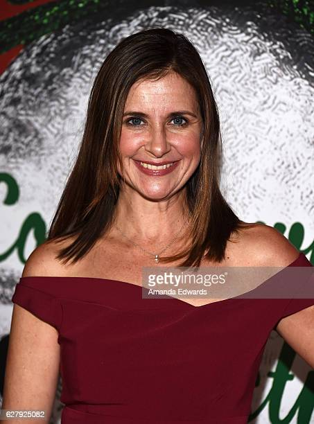 "Actress Kellie Martin arrives at a screening of Hallmark Channel's ""A Nutcracker Christmas"" at The Grove on December 5, 2016 in Los Angeles,..."