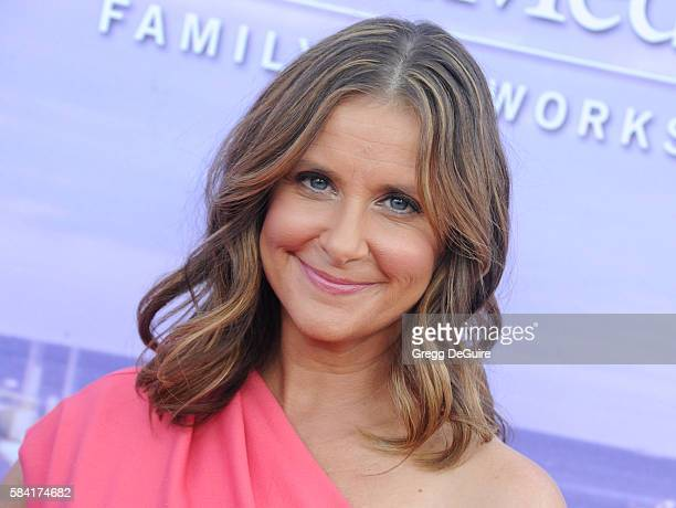 Actress Kellie Martin arrives at the Hallmark Channel and Hallmark Movies and Mysteries Summer 2016 TCA Press Tour Event on July 27 2016 in Beverly...