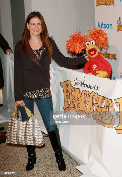 Actress Kellie Martin arrives at The Jim Henson Company's Fraggle Rock Holiday Toy Drive Benefit at Kitson on Roberston on December 9 2009 in Beverly...