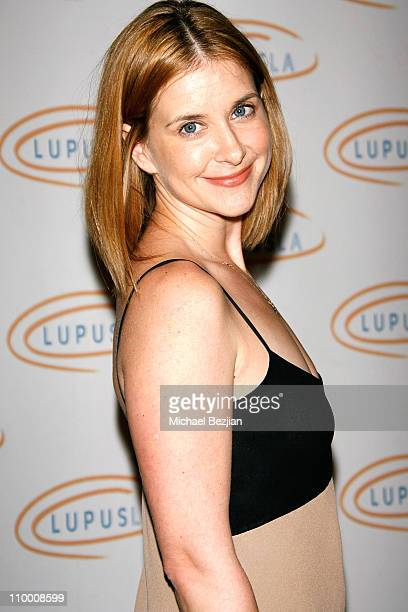 Actress Kellie Martin arrives at the Lupus LA's 2008 Orange Ball on May 1 2008 at The Beverly Wilshire in Beverly Hills California