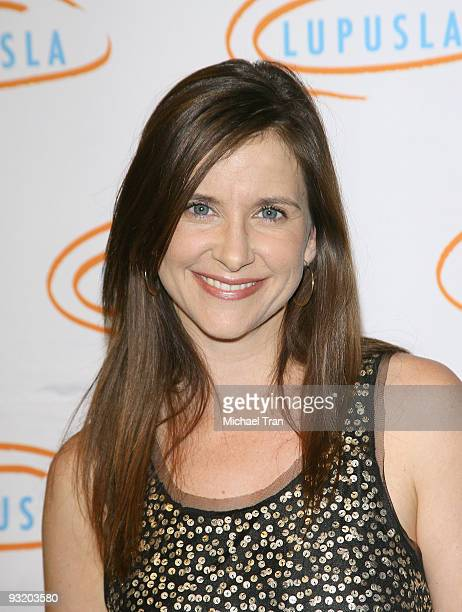 Actress Kellie Martin arrives to the 7th Annual Lupus LA's Bag Ladies luncheon held at The Beverly Wilshire Hotel on November 18 2009 in Beverly...