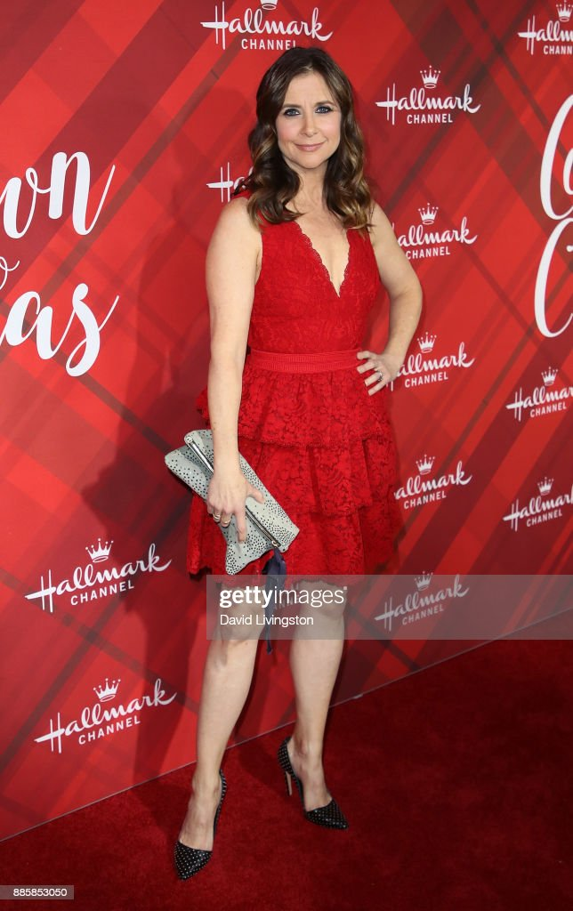 "Screening Of Hallmark Channel's ""Christmas At Holly Lodge"" - Arrivals"