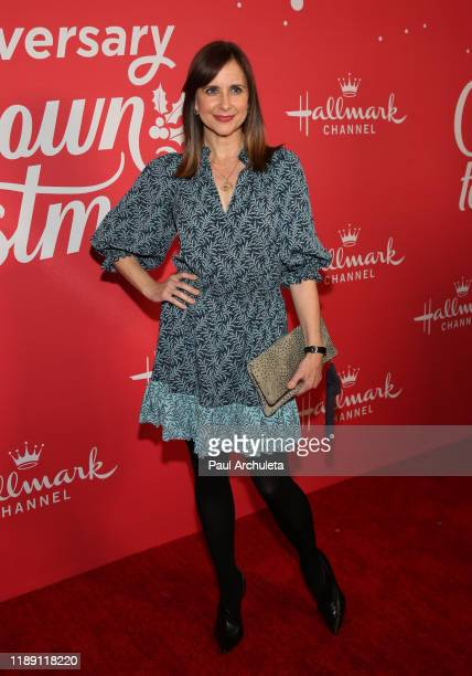 Actress Kellie Martin attends Hallmark Channel's 10th Anniversary of Countdown To Christmas screening and party at 189 by Dominique Ansel on November...
