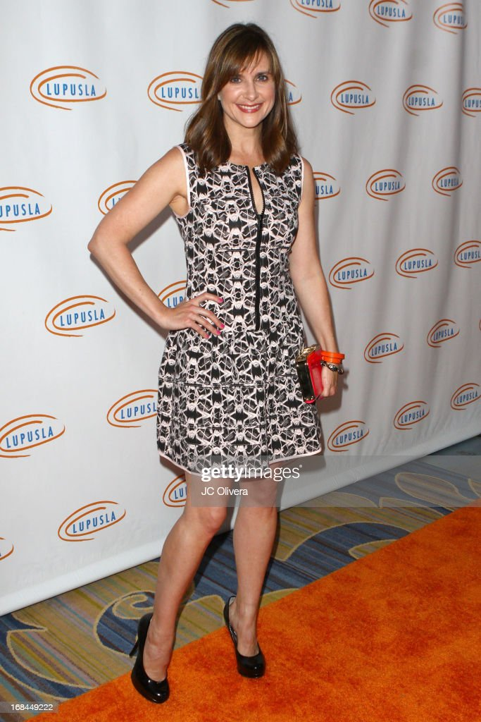 Actress Kellie Martin attends Lupus LA 13th Annual Orange Ball Gala at Regent Beverly Wilshire Hotel on May 9, 2013 in Beverly Hills, California.