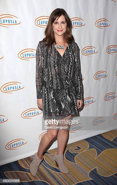 Actress Kellie Martin attends the 11th Annual Lupus LA Hollywood Bag Ladies Luncheon at the Beverly Wilshire Four Seasons Hotel on November 15 2013...