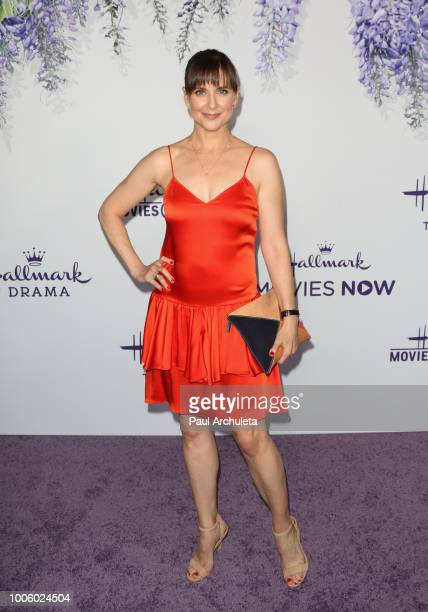 Actress Kellie Martin attends the 2018 Hallmark Channel Summer TCA at Private Residence on July 26 2018 in Beverly Hills California