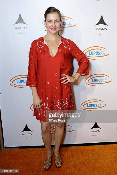 Actress Kellie Martin attends the Get Lucky for Lupus LA Celebrity Poker Tournament at Avalon on September 21 2016 in Los Angeles California