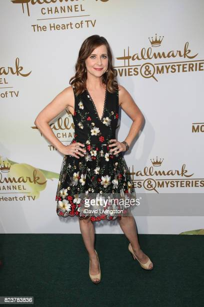 Actress Kellie Martin attends the Hallmark Channel and Hallmark Movies and Mysteries 2017 Summer TCA Tour on July 27 2017 in Beverly Hills California
