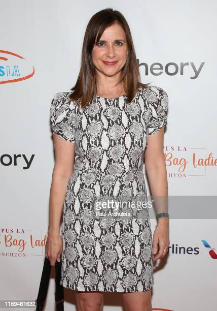 Actress Kellie Martin attends the Lupus LA 2019 Hollywood Bag Ladies Luncheon at The Beverly Hilton Hotel on November 22 2019 in Beverly Hills...