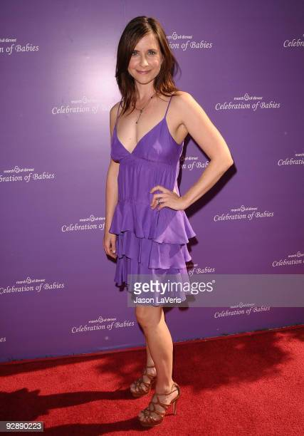 Actress Kellie Martin attends the March of Dimes 4th annual Celebration of Babies at Four Seasons Hotel on November 7 2009 in Beverly Hills California