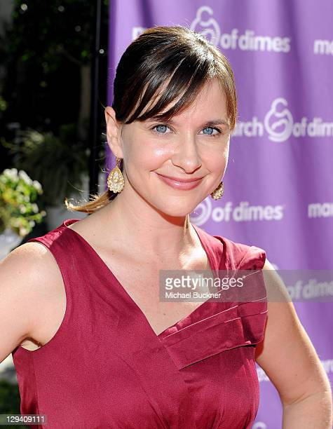 Actress Kellie Martin attends the March of Dimes Foundation & Samantha Harris Host 5th Annual Celebration of Babies Luncheon held at the Four Season...
