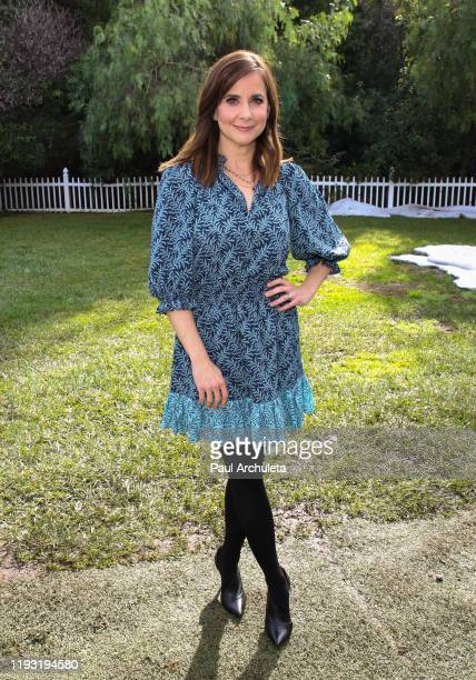 Actress Kellie Martin visits Hallmark Channel's Home Family at Universal Studios Hollywood on December 10 2019 in Universal City California