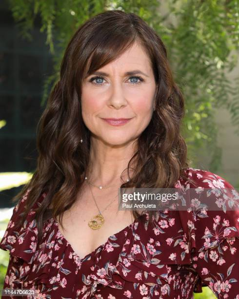 Actress Kellie Martin visits Hallmark's Home Family at Universal Studios Hollywood on April 23 2019 in Universal City California