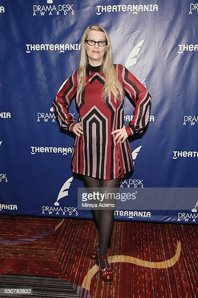 Actress Kellie Overbey attends the 2016 Drama Desk Awards Nominees Reception at The New York Marriott Marquis on May 11 2016 in New York City