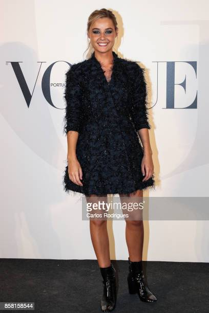Actress Kelly Bailey attends the Vogue Portugal Party Photocall on October 5 2017 in Lisbon Portugal