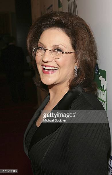 Actress Kelly Bishop arrives at the 20th Anniversary Genesis Awards at the Beverly Hilton Hotel on March 18 2006 in Beverly Hills California