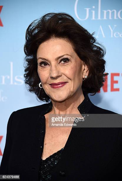 Actress Kelly Bishop arrives at the premiere of Netflix's Gilmore Girls A Year In The Life at the Regency Bruin Theatre on November 18 2016 in Los...