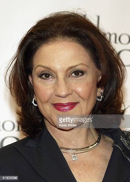 Actress Kelly Bishop arrives at The WB Networks' Gilmore Girls 100th episode party at The Space on December 4 2004 in Santa Monica California