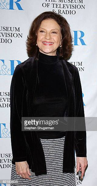 Actress Kelly Bishop attends the Museum of Television Radio Presents Gilmore Girls 100th Episode Celebration at The Museum of Television Radio on...